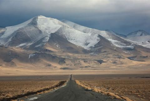 На границе Казахстана иКиргизии