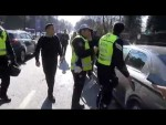 Кортеж Эрдогана попал в ДТП по дороге в мечеть (видео)