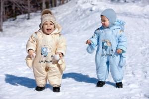 Комбинезон – главная «зимняя» вещь в гардеробе ребенка