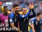 Сборная Франции по футболу обыграла Аргентину в 1/8 финала чемпионата мира со счетом 4: 3 и вышла в четвертьфинал.